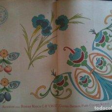 Antigüedades: EL CONSULTOR DE LOS BORDADOS EDICION LUJO -Cº661. Lote 105098607
