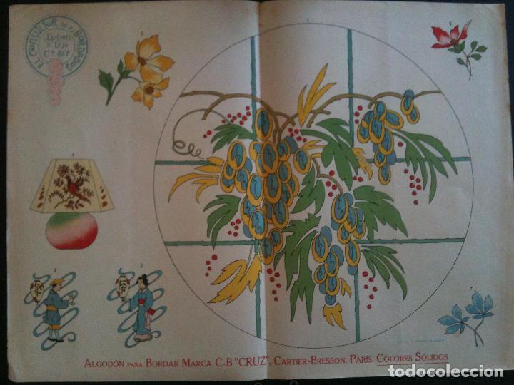 EL CONSULTOR DE LOS BORDADOS EDICION LUJO -Cº617 (Antigüedades - Moda - Bordados)