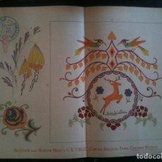 Antigüedades: EL CONSULTOR DE LOS BORDADOS EDICION LUJO -Cº677. Lote 105098811