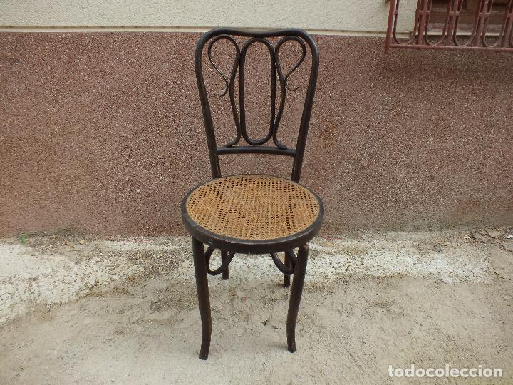 Silla thonet para restaurar comprar sillas antiguas en for Antiguedades para restaurar