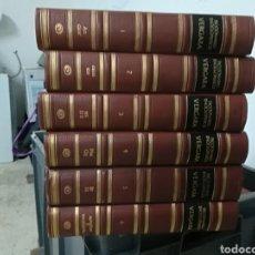 Diccionarios: *DICCIONARIO ENCICLOPÉDICO VERGARA *6 TOMOS COMPLETA* CAJA 1. Lote 105133975