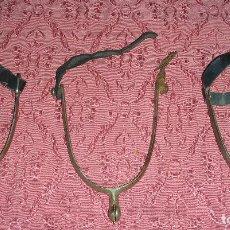 Antigüedades: TRES ANTIGUAS ESPUELAS. Lote 105169707
