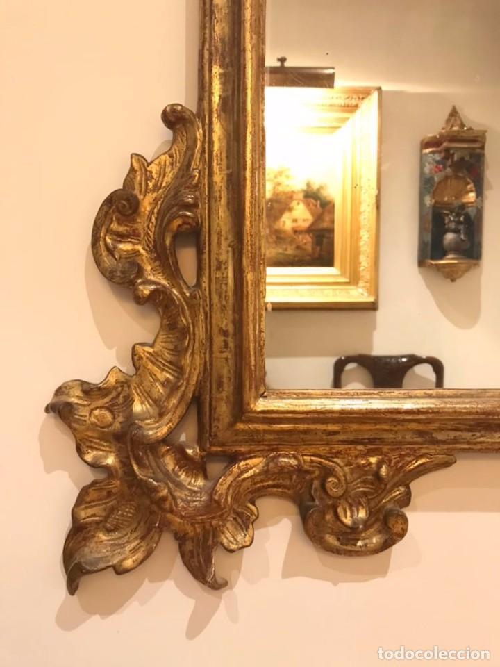 Antigüedades: Espejo siglo XIX - Foto 4 - 105183067