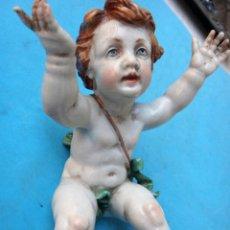 Antigüedades: CERAMICA PORCELANA DE ALGORA , ANGEL O ANGELITO , ORIGINAL , A9. Lote 105187415