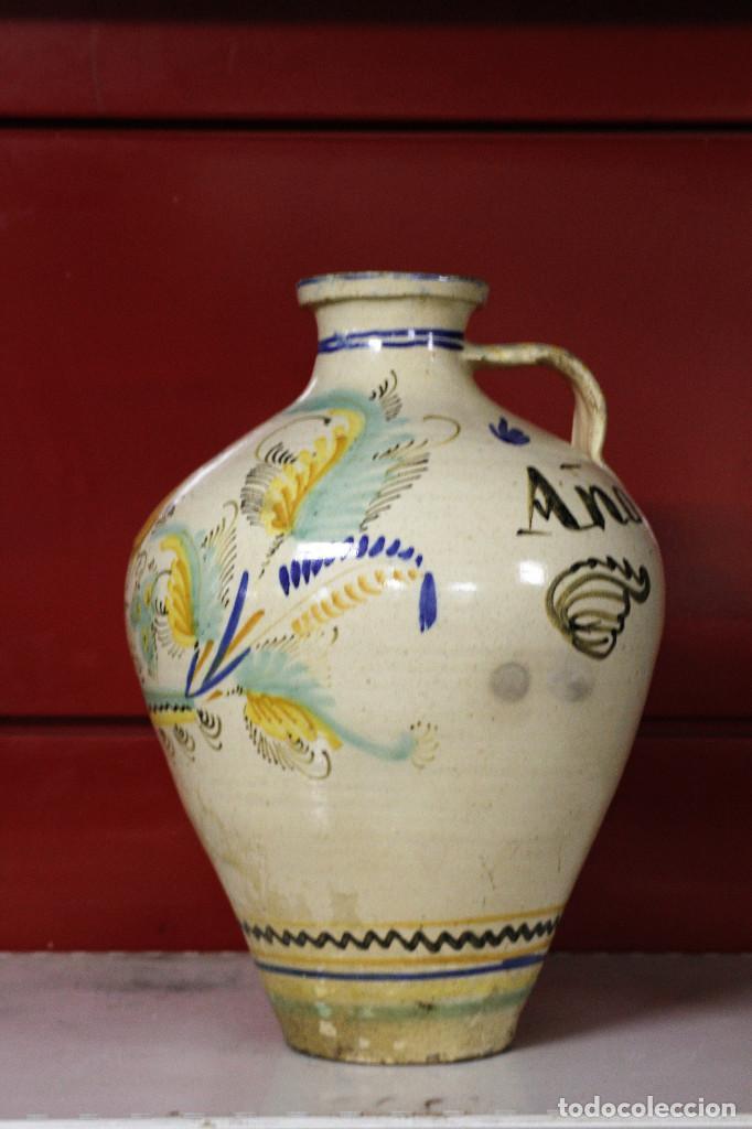 Antigüedades: Jarron de cerámica. Puente del Arzobispo. 1919 - Foto 2 - 105190071