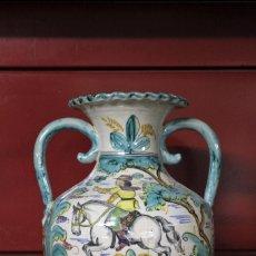 Antigüedades: JARRON DE CERÁMICA. PUENTE DEL ARZOBISPO.. Lote 105190255