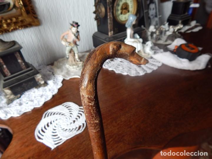 Antigüedades: bello baston con estilo y con época - Foto 2 - 105200515