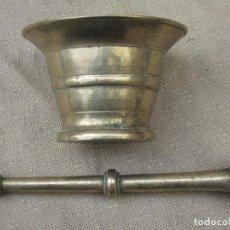 Antigüedades: ALMIREZ ANTIGUO EN BRONCE CON SU MANO.. Lote 105211831