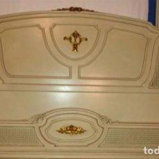 Antigüedades: CABEZAL Y PIÉ DE CAMA. Lote 105217259