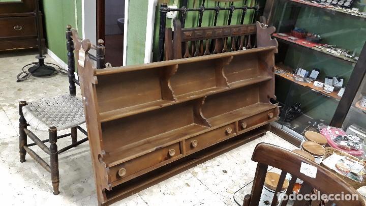 mueble auxiliar antiguo estantería antigua de c - Comprar Muebles ...