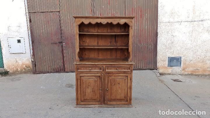 Mueble auxiliar aparador antiguo alacena estan comprar for Mueble auxiliar rustico