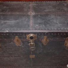 Antigüedades: BAUL ANTIGUO DE MADERA. Lote 105245570