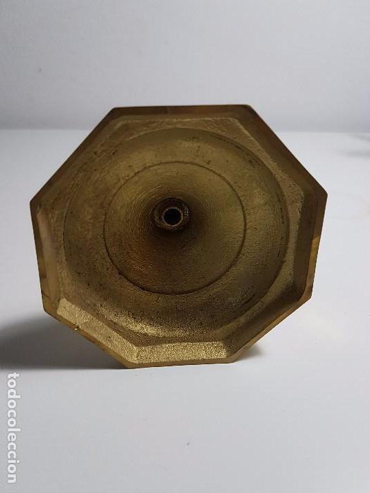 Antigüedades: CANDELABRO DE BRONCE - Foto 3 - 105251407