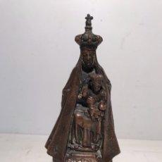 Antigüedades: VIRGEN DE SANTA MARIA DE NURIA DE CALAMINA. 19CM.. Lote 105260187