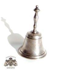Antigüedades: CAMPANILLA DE SERVICIO 9 CM DE ALTA. Lote 105310231