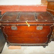 Antigüedades: ANTIGUO BAUL MARINERO. Lote 105317659