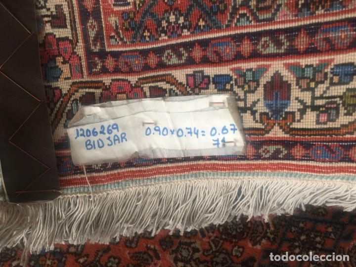 Antigüedades: Alfombra persa Bidjar tejida a mano - Foto 2 - 105325522