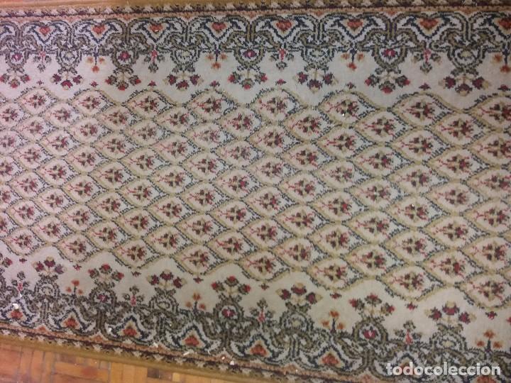 Antigüedades: alfombra de pasillo mide casi 8 m - Foto 3 - 105326823