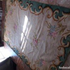 Antigüedades: ALFOMBRA ANTIGUA. Lote 105326947