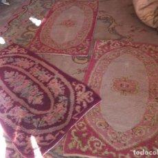 Antigüedades: LOTE DE 3 ALFOMBRA PEQUEÑAS . Lote 105327135