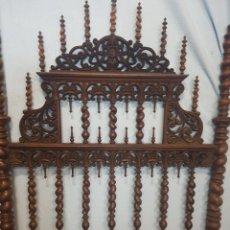 Antigüedades: CAMA DE CASA PALACIO SIGLO XIX. Lote 105327740