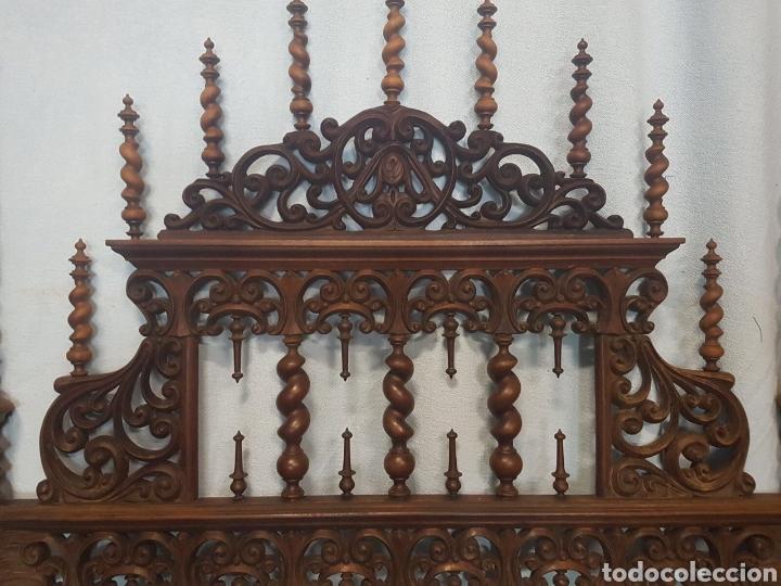 Antigüedades: Cama de casa palacio siglo XIX - Foto 5 - 105327740