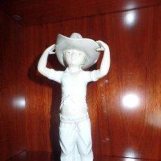 Antigüedades: NIÑO VAQUERO NAO LLADRO. Lote 105336447