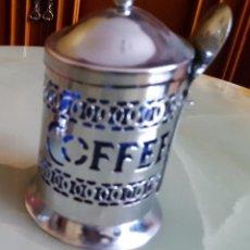 Antigüedades: RECIPIENTE PARA CAFÉ.. Lote 105341035