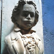 Antigüedades: VIEJO BUSTO DE BEETHOVEN??IDEAL RESTAURADORES, VER FOTOS. Lote 105347099