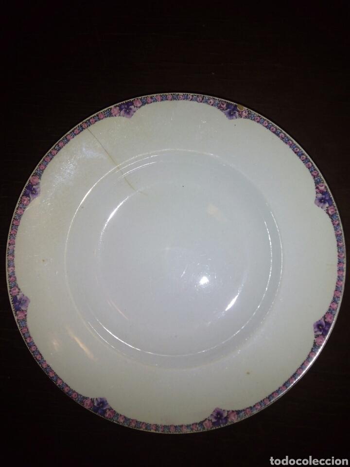 PLATO IT SANTANDER (Antigüedades - Porcelanas y Cerámicas - Otras)