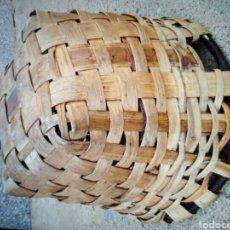Antigüedades: CESTO DE MADERA .. Lote 105370871