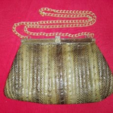 Antiques - Bolso piel de serpiente - 105374939
