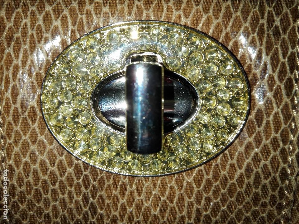 Antigüedades: Cartera imitación de piel de serpiente - Foto 5 - 105376007