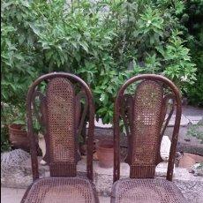 Antigüedades: SILLAS DE REGILLA. Lote 105376903