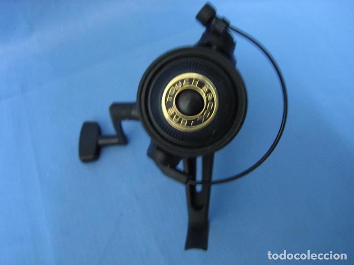 Antigüedades: Carrete de pesca marca Bykal años 80 o 90.No se ha usado nunca - Foto 4 - 105416343