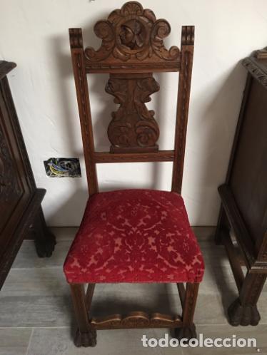 Antigüedades: COMEDOR TALLADO - Foto 2 - 105416587