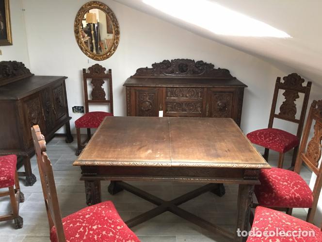 Antigüedades: COMEDOR TALLADO - Foto 12 - 105416587