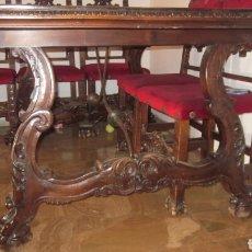 Antigüedades: COMEDOR CASTELLANO. Lote 105456418