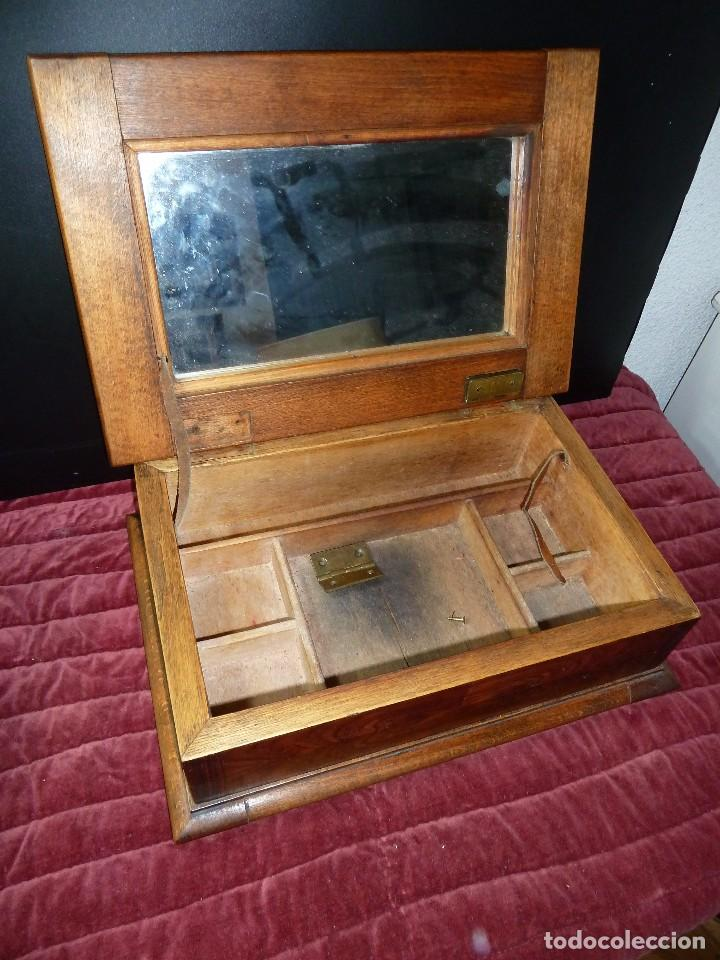 Antigüedades: caja joyero - Foto 4 - 105463503