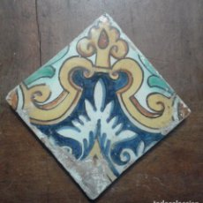 Antigüedades: AZULEJO DE CERAMICA CATALANA SIGLO XIX. Lote 105473599