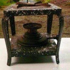 Antigüedades: COCINILLA DE PETROLEO MARCA IRUM. Lote 105559639