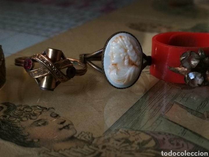 Antigüedades: Anillos antiguos de bisuteria. - Foto 2 - 105571090
