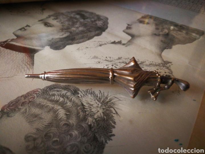 BROCHE ANTIGUO DE ALFILER. (Antigüedades - Moda y Complementos - Mujer)