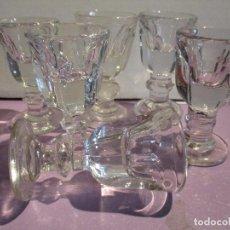 Antigüedades: COPAS CRISTAL PRENSADO COPA . Lote 105576823