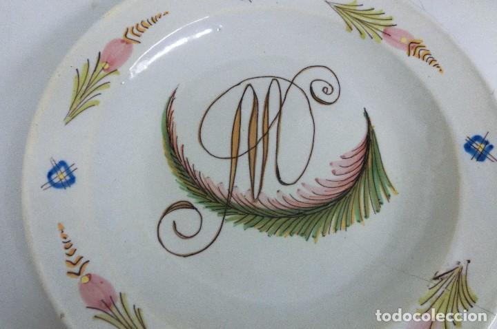 Antigüedades: plato de manises - Foto 2 - 105584223