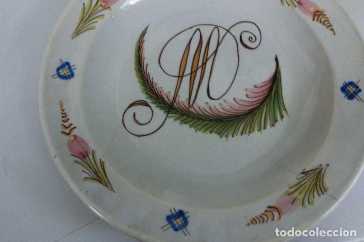 Antigüedades: plato de manises - Foto 3 - 105584223