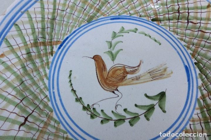Antigüedades: plato de manises - Foto 2 - 105585259