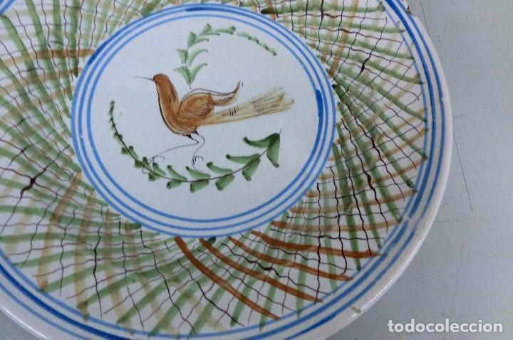 Antigüedades: plato de manises - Foto 3 - 105585259