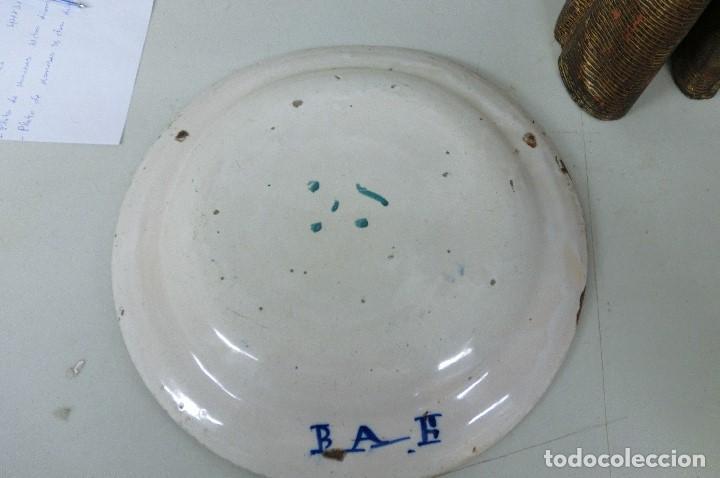Antigüedades: plato de manises - Foto 5 - 105588131