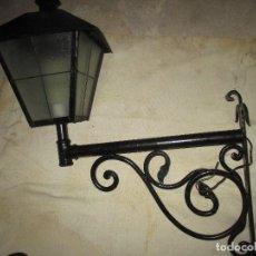 Antiquitäten - 2 faroles soporte . hierro forjado , brazo. - 105591967